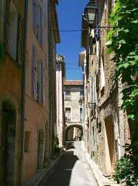 Provence typische Altstadt